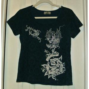 Vanilla Sugar Embellished T Shirt Sparkle!